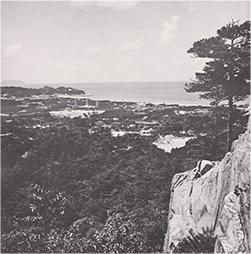 下関の10年石堂山(昭和27年)