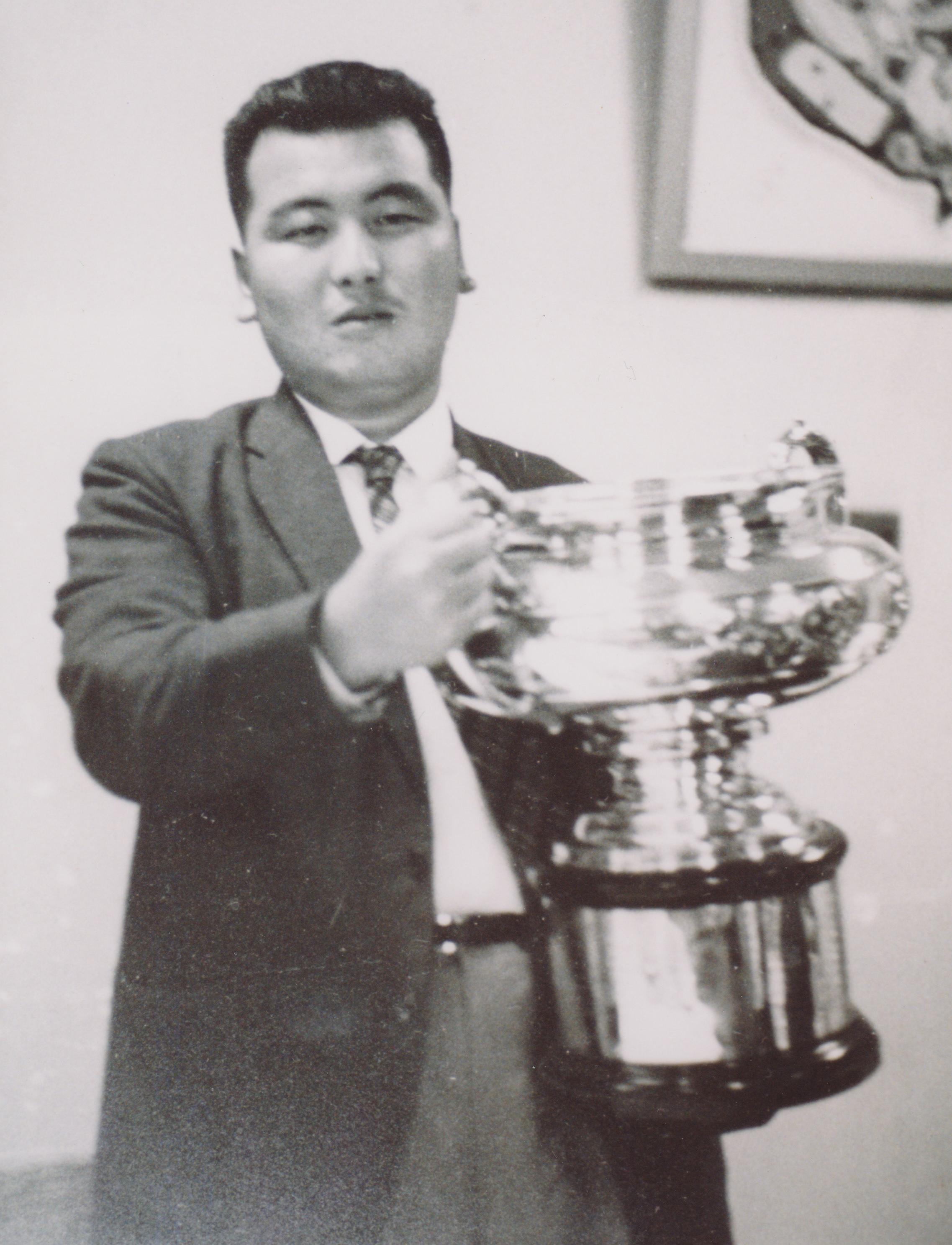 所属プロ細石憲二氏 日本オープンゴルフ選手権優勝(鷹之台CC)画像